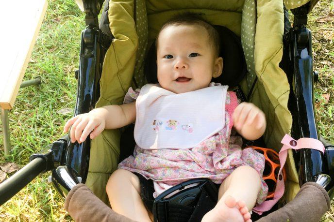 赤ちゃんとキャンプに行こう!ーその1。 お手軽デイキャンプの勧め