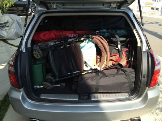 もう積めない??オートキャンプで積載を工夫して車内をすっきりさせるコツ