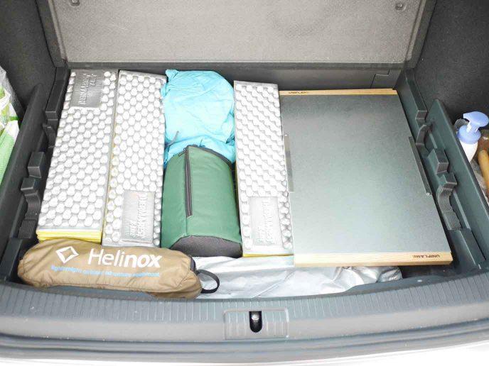 続・キャンプ道具をコンパクト化して収納や車の積載を楽にする!