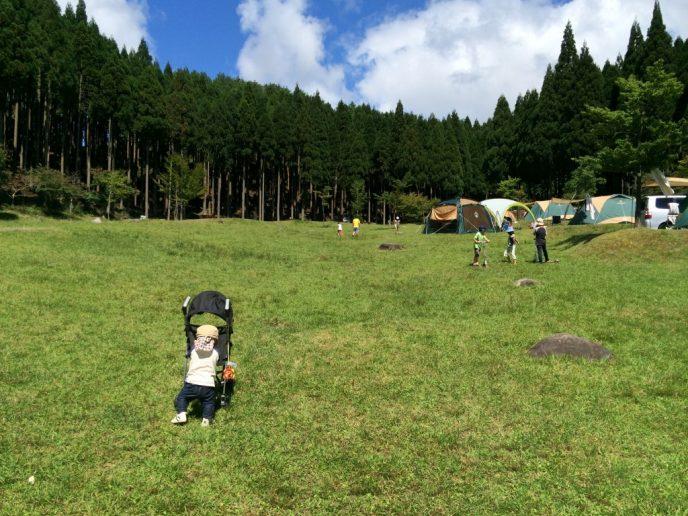 草原の秋キャンプ!フォレストステーション波賀