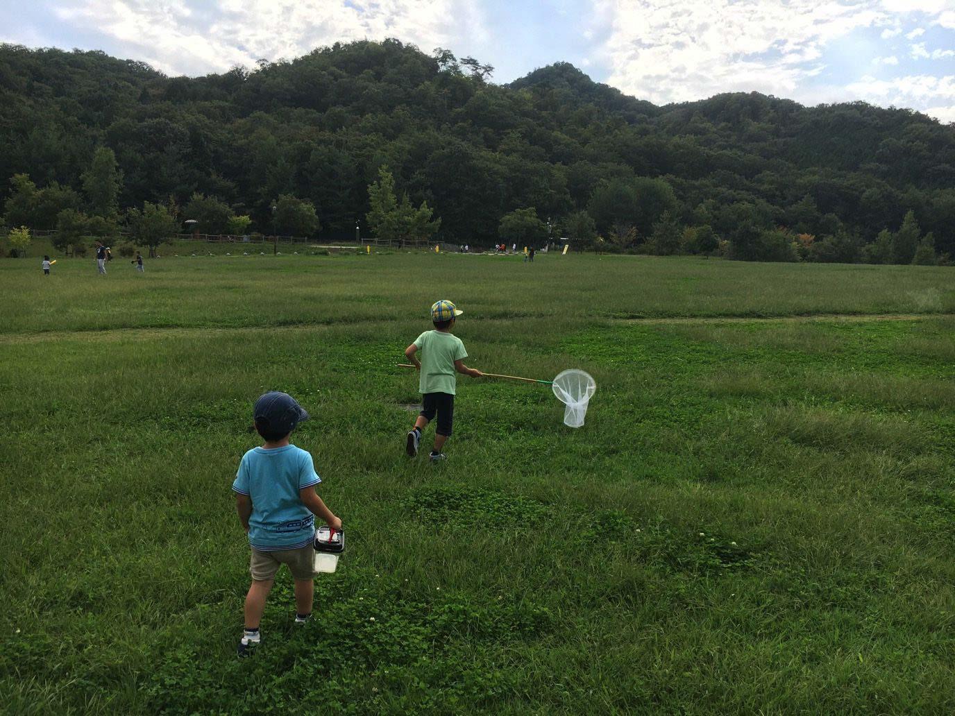 有馬富士公園でほのぼのデイキャンプ