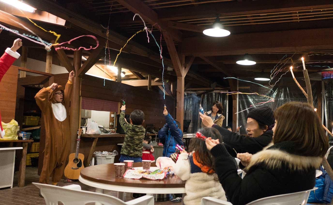 森のひとときのクリスマスイベント 「親子で森のクリスマス」 に参加。コテージ泊で楽チン。