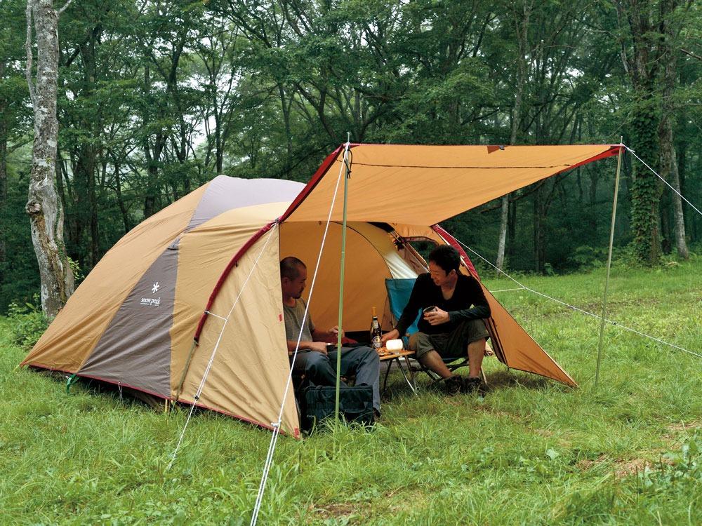 Snowpeak tent