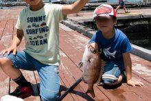 淡路じゃのひれオートキャンプ場。家族で特大マダイ釣りも満喫!!6年ぶりに行ってきました。