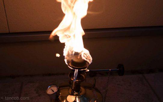 もう怖くない!!武井バーナーの炎上のメカニズムと点火のコツ。